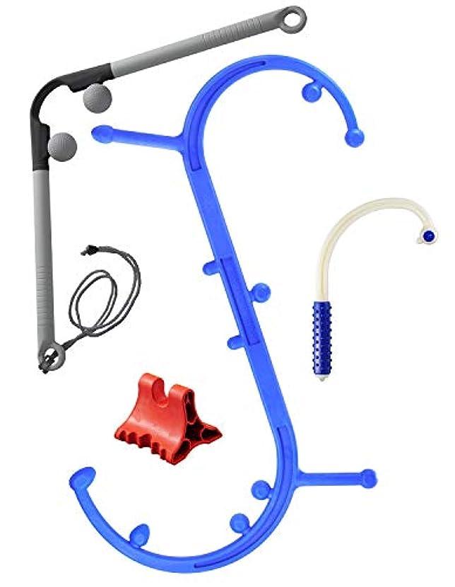 退屈させる凍る艦隊Body Back Company's Natural Back Care Kit: Body Back Buddy Trigger Point Self-Massage Tool, AccuMassage, Body Back Buddy Mini and DaVinci Tool Soft Bundle by Body Back Company