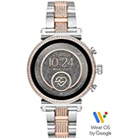 Michael Kors Women's Quartz Michael Kors Smartwatch smart Display and Stainless Steel Strap, MKT5064