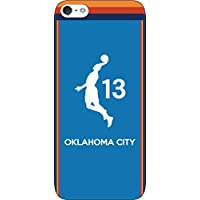 iPhone/Xperia/Galaxy/その他Android選択可:バスケットシルエット(フルカラー/アウェイ/オクラホマシティ:13番_A) 167 softbank Nexus 6P