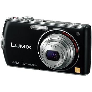 Panasonic デジタルカメラ LUMIX FX70 エスプリブラック DMC-FX70-K