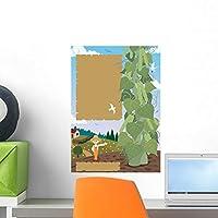Beanstalk Wall Mural by Wallmonkeys Peel and Stick Graphic (18 in H x 13 in W) WM149386 [並行輸入品]