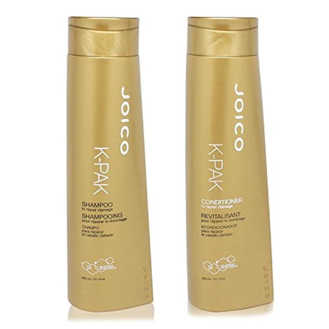 一般的な振りかける再開JOICO K PAK Reconstruct Shampoo and Conditioner 10.1oz Duo Set (To repair damaged hair) by Joico