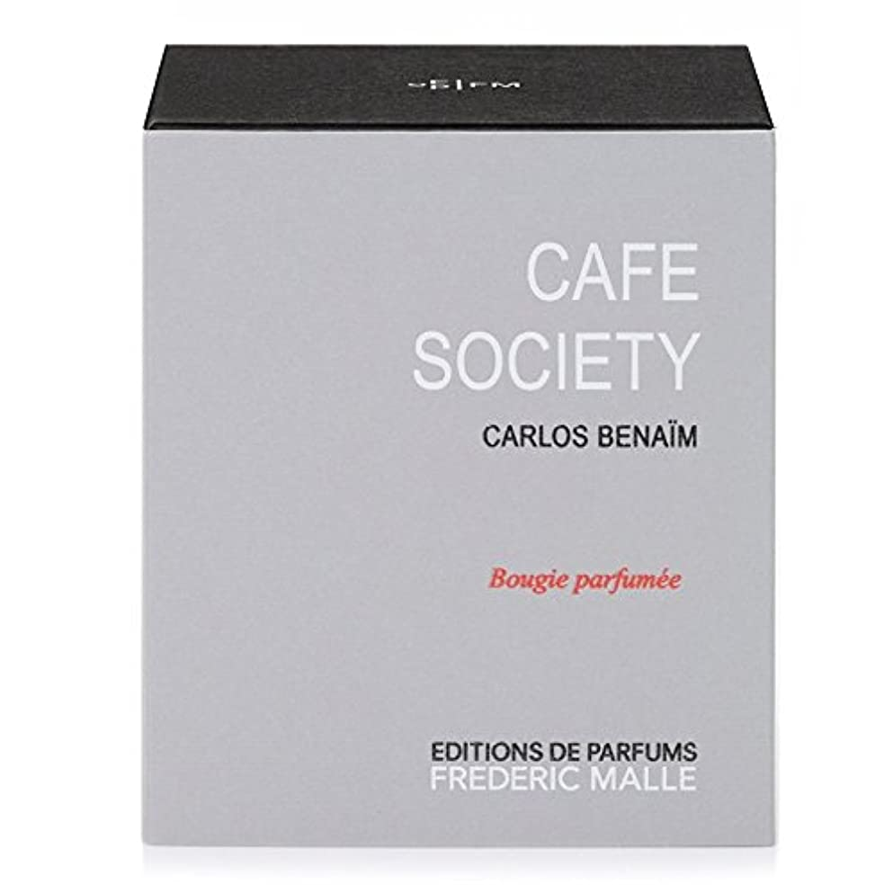盆ノイズ値するFrederic Malle Cafe Society Scented Candle 220g (Pack of 2) - フレデリック?マルカフェ社会の香りのキャンドル220グラム x2 [並行輸入品]