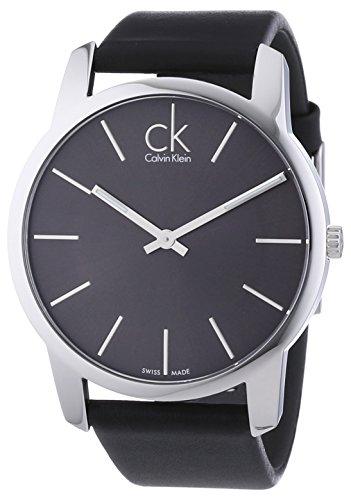[ck カルバン・クライン ウォッチ]ck Calvin Klein 腕時計 ck City(シーケー シティ ) K2G21107  グレー文字盤 【正規輸入品】