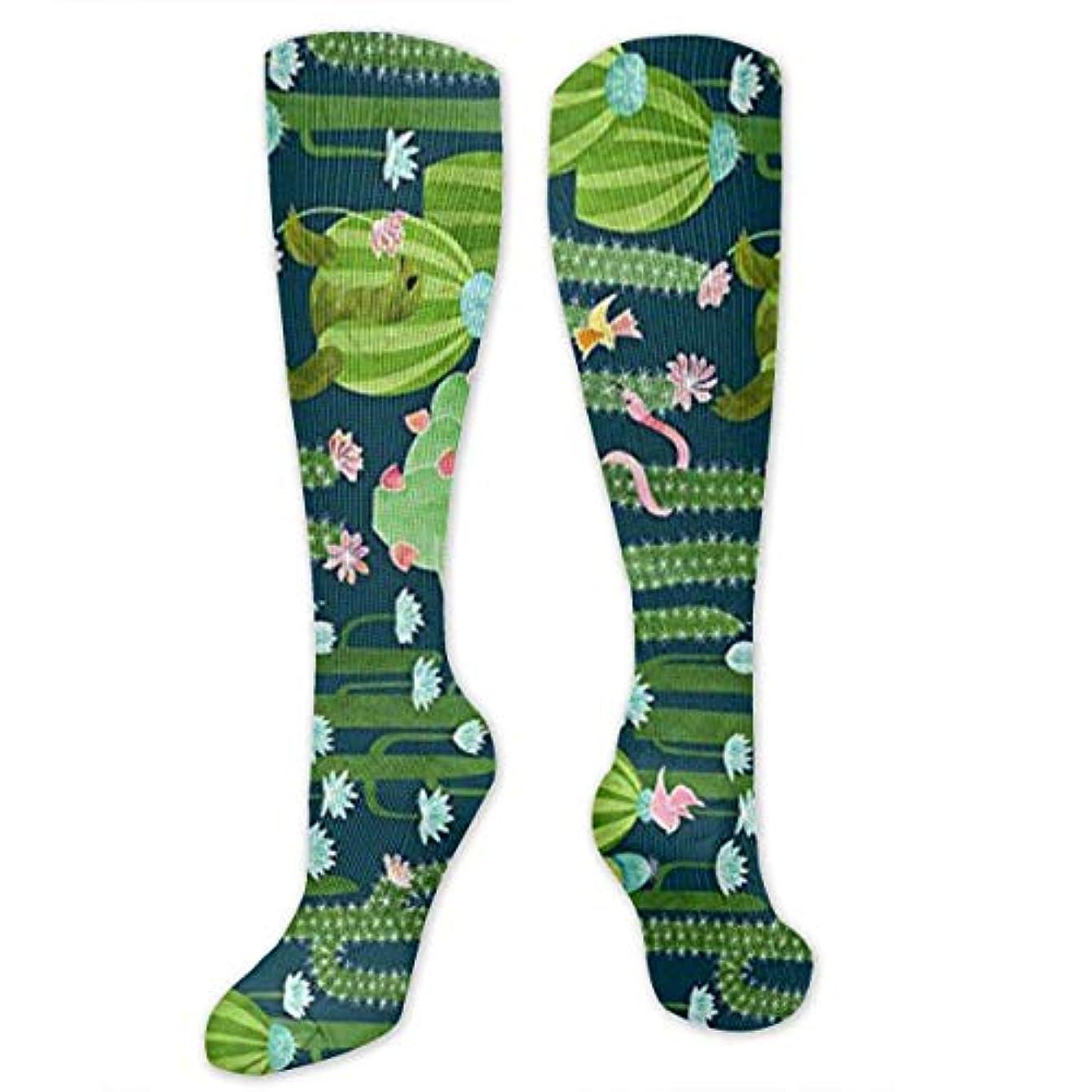 家族海岸補う靴下,ストッキング,野生のジョーカー,実際,秋の本質,冬必須,サマーウェア&RBXAA The Cactus Garden of Earthly Delights Socks Women's Winter Cotton...