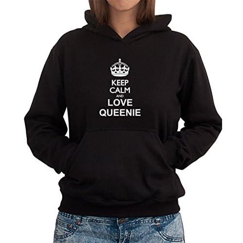 Keep calm and love Queenie Women 女性パーカー