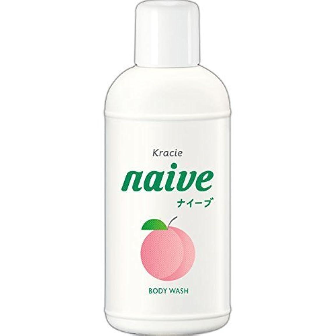 保守的慈善グローブ【クラシエ】ナイーブ ボディソープ 桃の葉 80ml ×5個セット