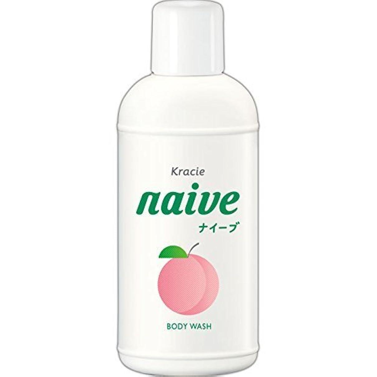 反毒抽出冷笑する【クラシエ】ナイーブ ボディソープ 桃の葉 80ml ×20個セット