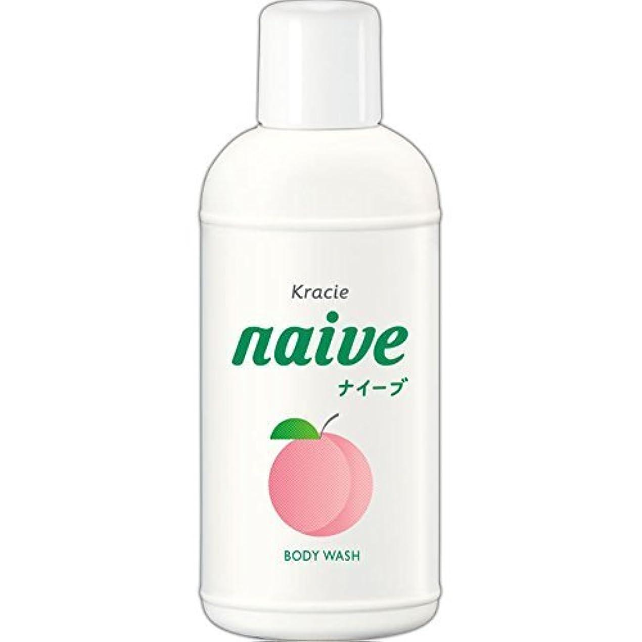 スペイン語ばかげたイブニング【クラシエ】ナイーブ ボディソープ 桃の葉 80ml ×10個セット