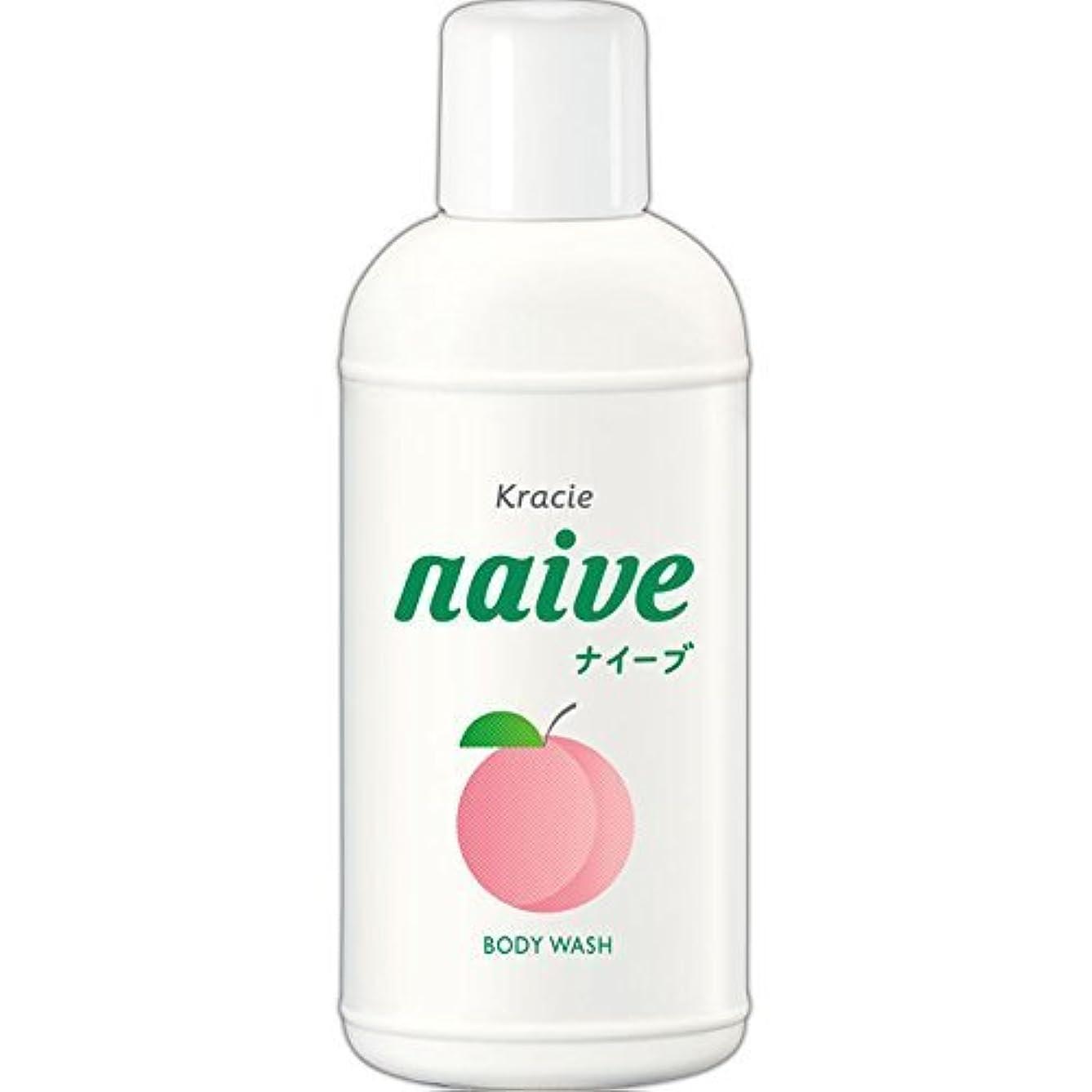 ドラッグ傑作時間厳守【クラシエ】ナイーブ ボディソープ 桃の葉 80ml ×5個セット