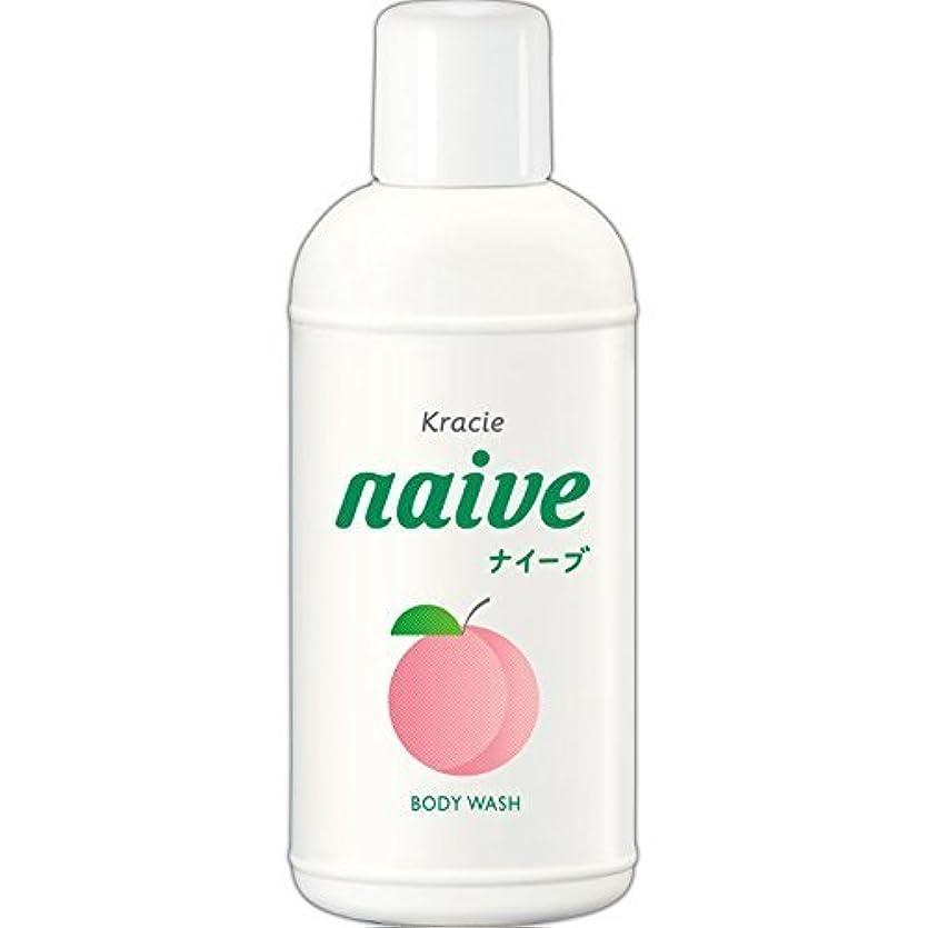 樹皮デコラティブ明らか【クラシエ】ナイーブ ボディソープ 桃の葉 80ml ×5個セット