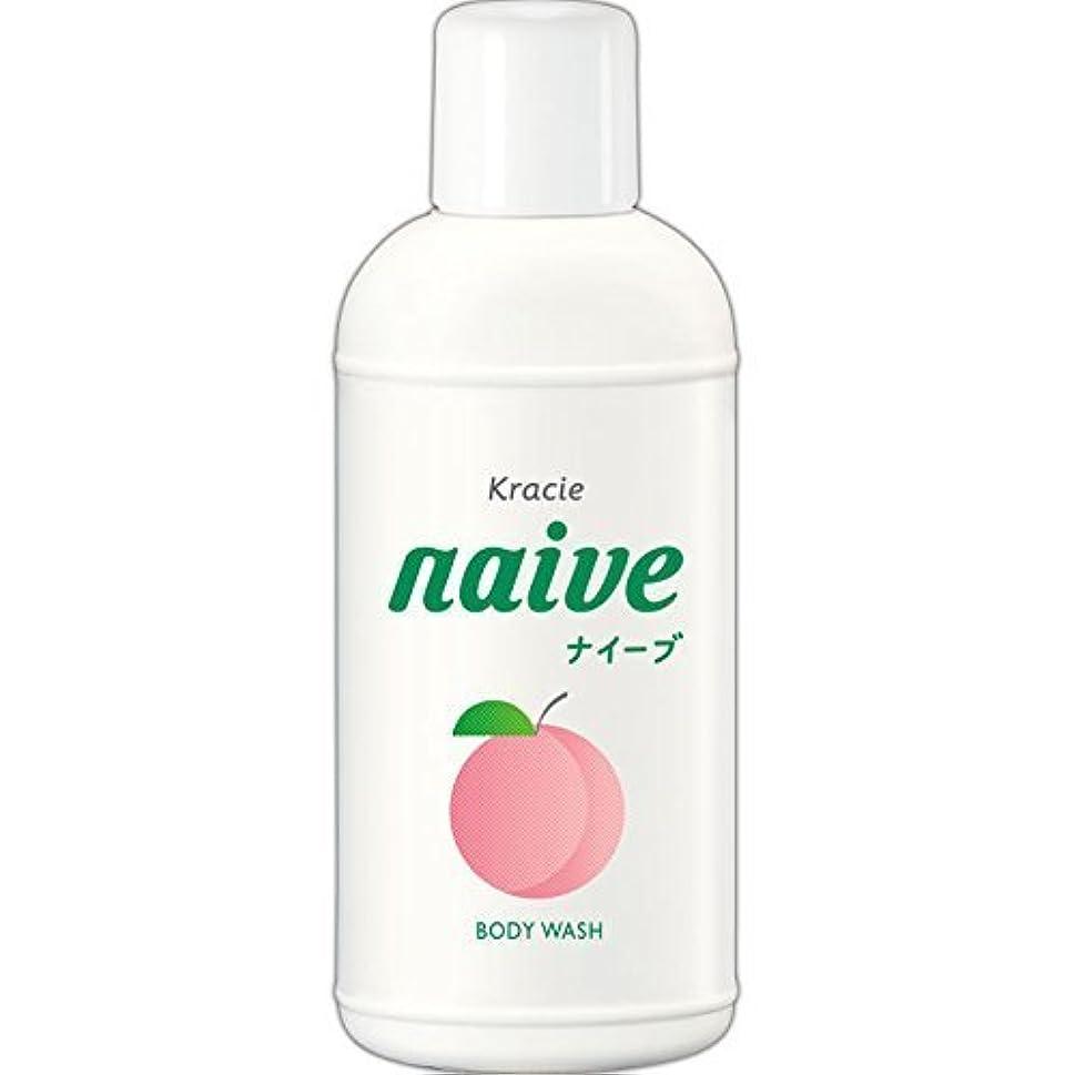 圧縮昨日肥料【クラシエ】ナイーブ ボディソープ 桃の葉 80ml ×5個セット