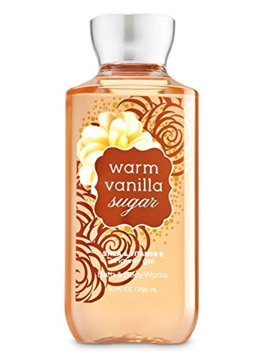 カニ目の前の恐怖症Bath & Body Works  シャワージェル-Warm Vanilla Sugar*???? ?????????【並行輸入品】