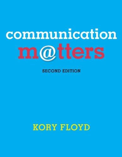 Download Communication Matters 0078036860