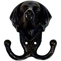 DOG 犬 鋳物 キャストアイアン インダストリアル ガレージ 壁掛け フック ガーデニング DIY おしゃれ ;AVSB-092