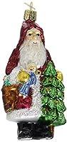 Old World Christmas Woodland Father Glass Blown Ornament 【Creative Arts】 [並行輸入品]