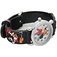 Kids Wristwatch Silicone Band Watches 3D Strap Rubber Secure Care Chirden Time Teacher Student Cartoon Watch Sport Style Baby Watch