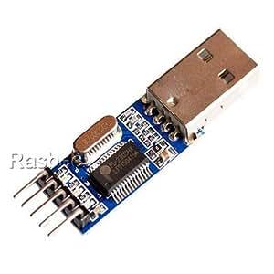 Rasbee オリジナル PL2303モジュール TTLへのUSBモジュール STC STM32 自動変換モジュール ダウンロードケーブルブラシライン 1個 [並行輸入品]