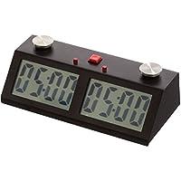 Professional Tournament Chess Game Clock Black