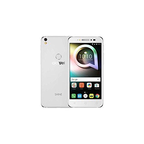 ALCATEL SIMフリースマートフォン SHINE LITE(ホワイト) 5080F-2DALJP7