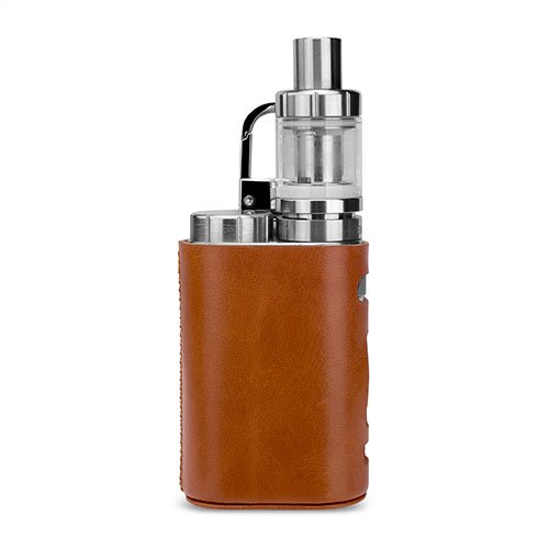 WISTERIAS Leather case for Eleaf iStick Pico (Grus: Sepia Brown) 本革使用のハンドメイド高級レザーケース