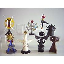 カプセルQ 復刻版 岡本太郎 アートピース コレク 第2集 全9種 全9種 1 1970 青春の塔 2 1970 太陽の塔 3