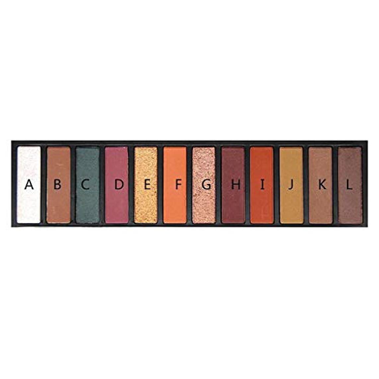 アフリカ人ジャベスウィルソン上院ブライトシルキー12色 アイシャドウ パレット アイシャドー アース パール ライト メイクパレット 日韓風 可愛い マット アイシャドーディスク 暖色系 長持ち