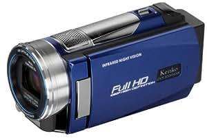 Kenko フルハイビジョンビデオカメラ DVS A10FHDIR 暗闇でも撮影できるIR LEDライト搭載 DVSA10FHDIR