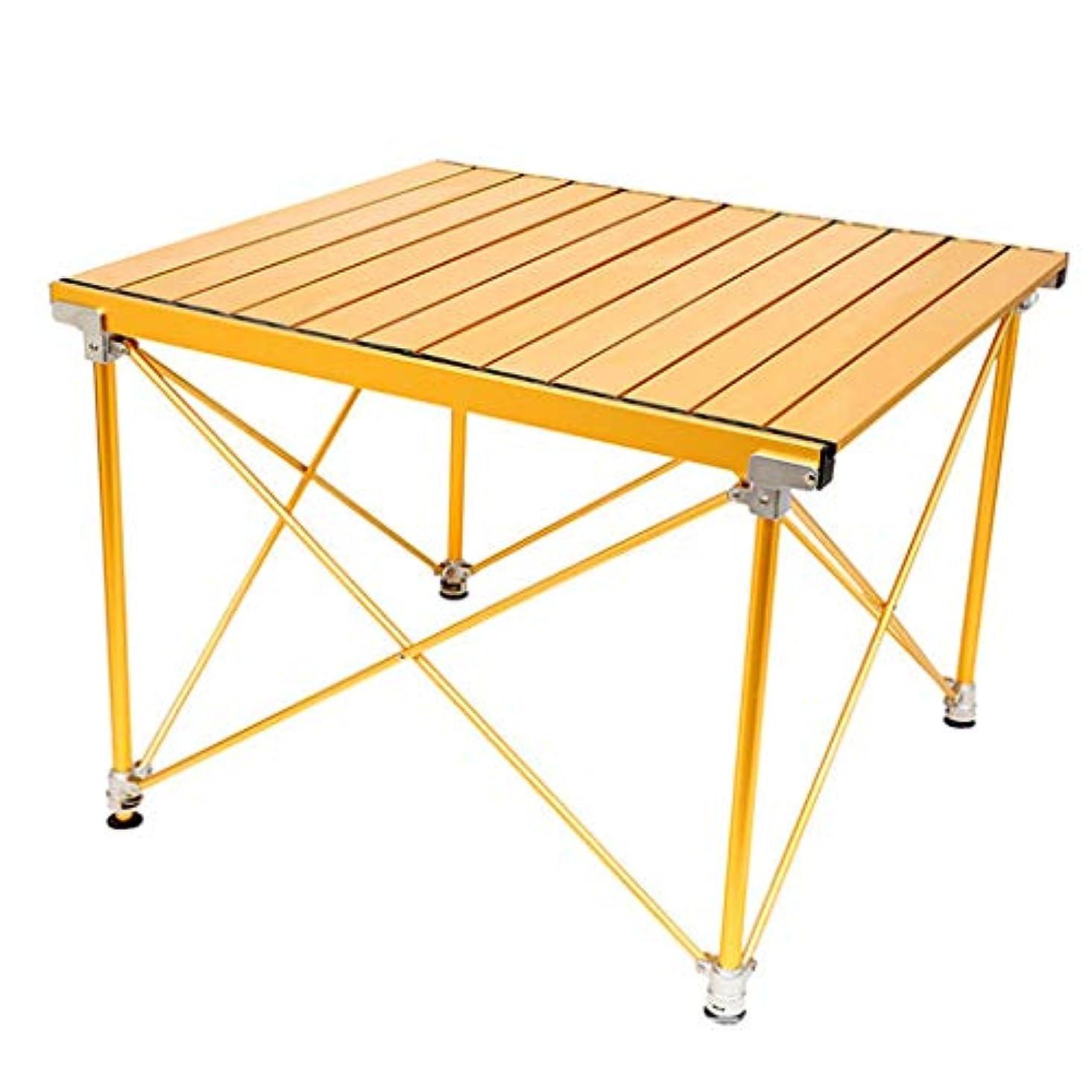 伝導リマ罪悪感アルミテーブルトップ付きポータブルキャンプテーブル ハードトップ折りたたみテーブル バッグ入り ピクニック キャンプ ビーチ ボートに バーナーで食事や料理に便利 お手入れ簡単