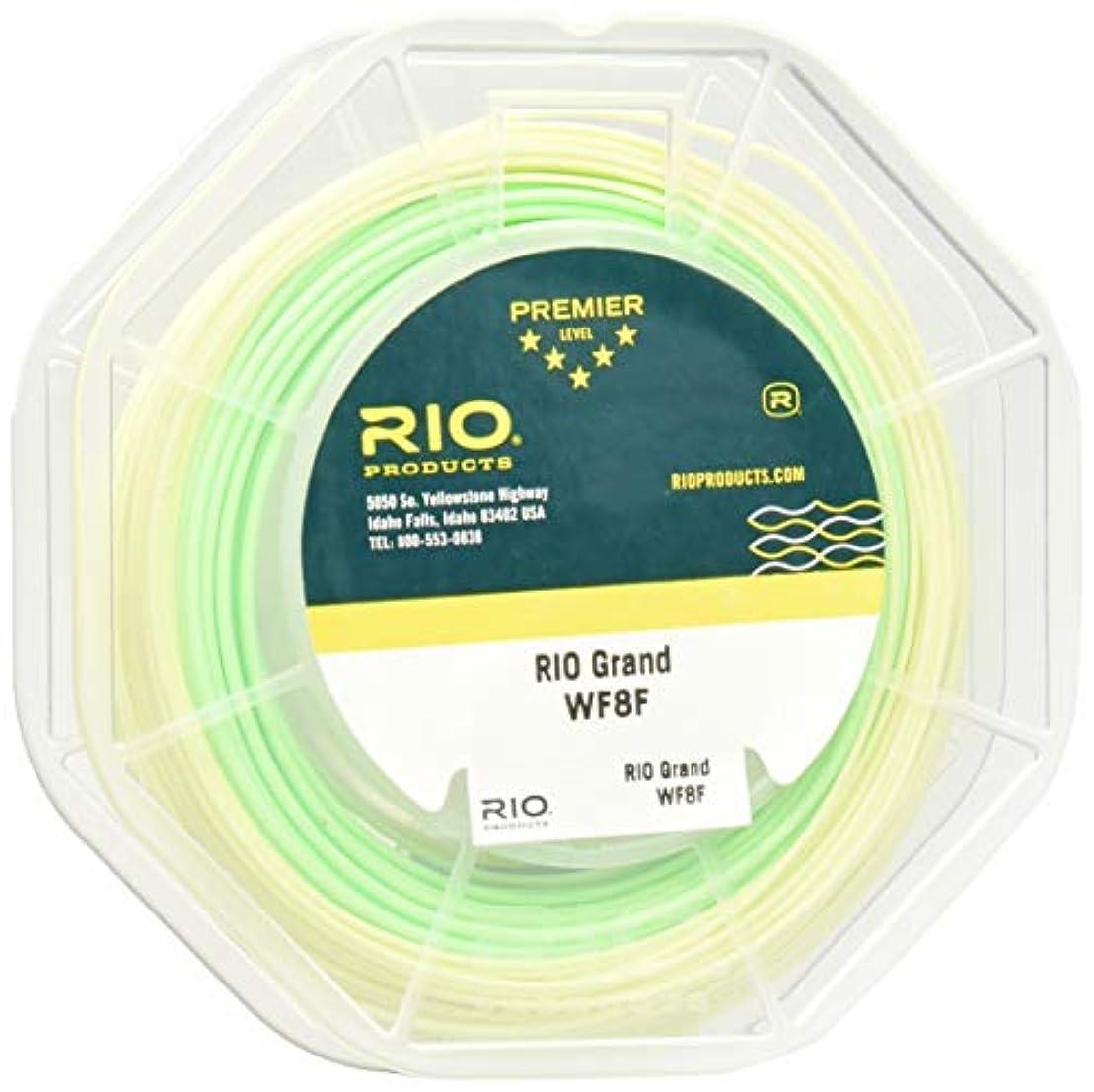 インゲン摘むスカリー(WF3F, Pale Green and Lt. Yello) - Rio Fly Fishing Grand Series Freshwater Floating Fly Line