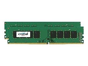 Crucial [Micron製] DDR4 デスク用メモリー 4GB x2 ( 2133MT/s / PC4-17000 / CL15 / 288pin / SR x8 Unbuffered DIMM ) 永久保証 CT2K4G4DFS8213