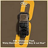 Distance feat.Weny Dacillo,Taeyoung Boy,Lui Hua♪KMのCDジャケット