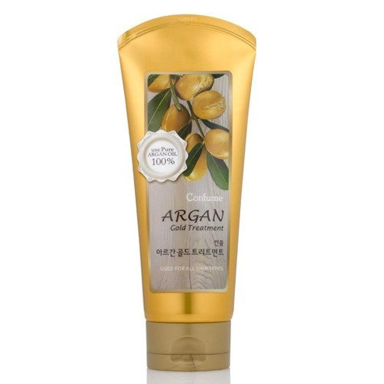 中傷黙認するソースウェルコス(WELCOS) アルガン コールド トリートメント200ml / Welcos Confume Argan Gold Treatment 200ml [並行輸入品]