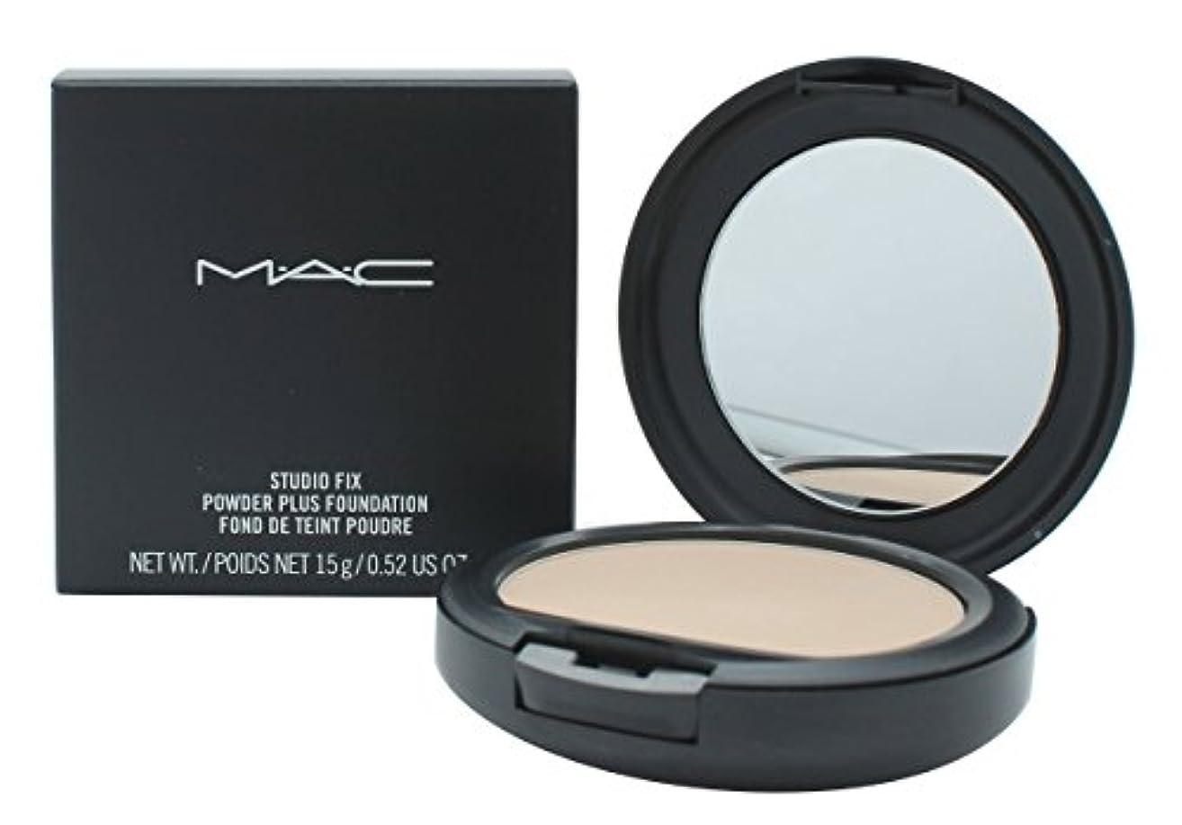 案件マウス回復MAC?スタジオ フィックス パウダー プラス ファンデーション #NC15 (パウダーファンデーション) ケース付