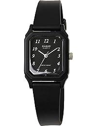[カシオ]CASIO チプカシ 腕時計 アナログ チープカシオ ウレタンベルト レクタンギュラー レディース LQ-142-1B [並行輸入品]