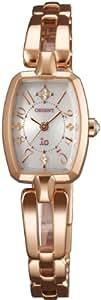 [オリエント]ORIENT 腕時計 io イオ スイートジュエリー ソーラー WI0161WD レディース