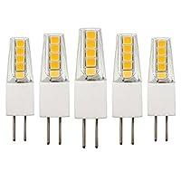 G4口金 LED電球 2W AC/DC 12V 20Wハロゲン電球と同等 200LM 非調光 2700-3000K ウォームホワイト 360度ビーム角度 (5個入り)