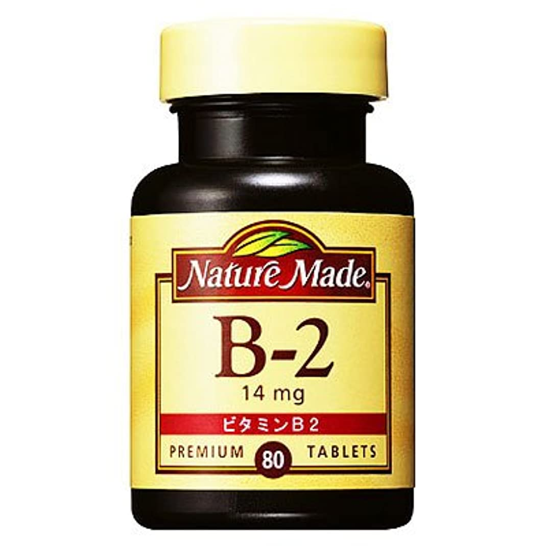 みぞれ中毒プログラムネイチャーメイド ビタミンB2 14mg 80粒