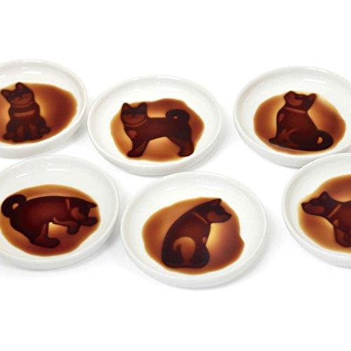 イヌ グッズ 醤油皿 小皿 犬雑貨 6種類セット
