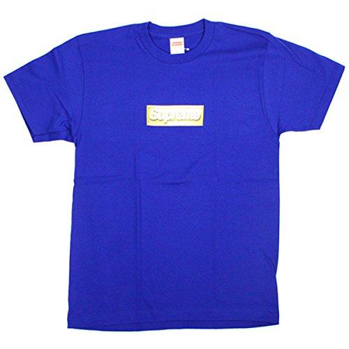 Size【M】13SS Bling BOXロゴTシャツ【青】 シュプリーム