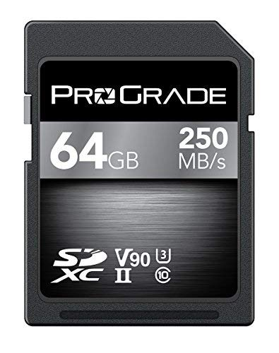 ProGrade Digital(プログレードデジタル) SDXC UHS-II V90メモリーカード 64GB