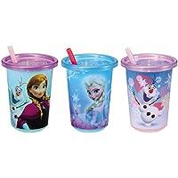 ディズニー ファンファンパーティ ストローカップ アナと雪の女王セット