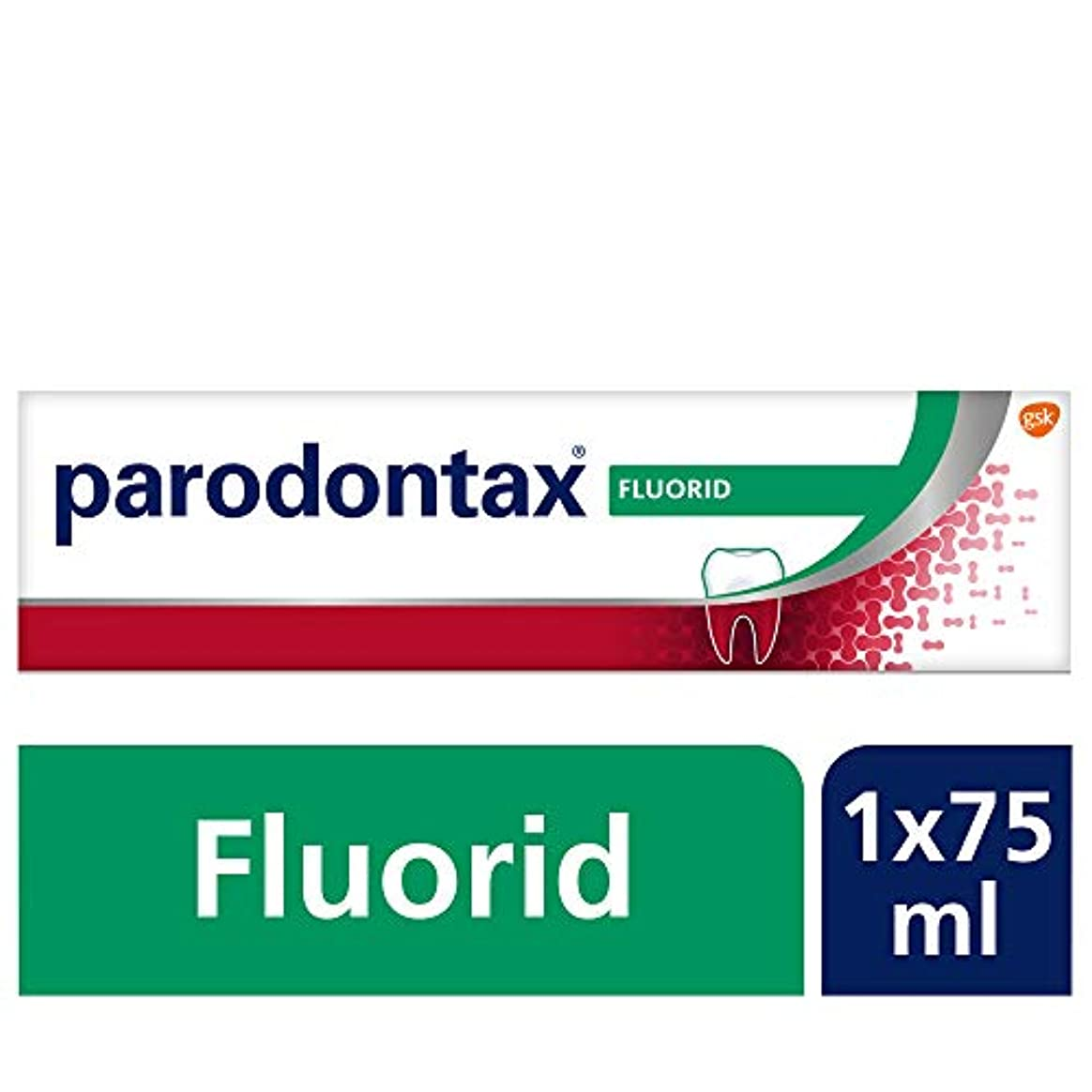 スケッチ救援ボランティアParodontax Zahncreme 75 ml
