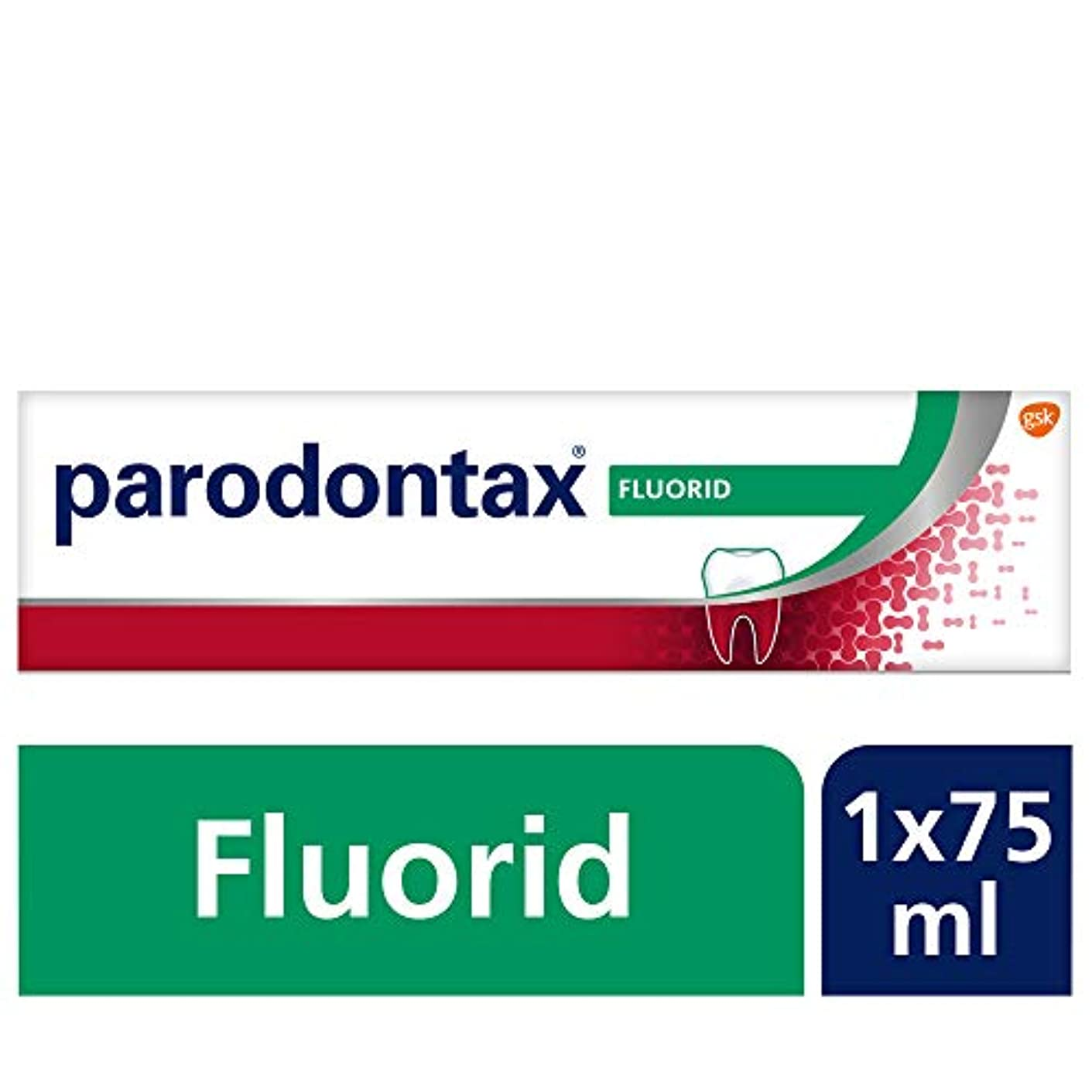 破滅リラックスしたワックスParodontax Zahncreme 75 ml