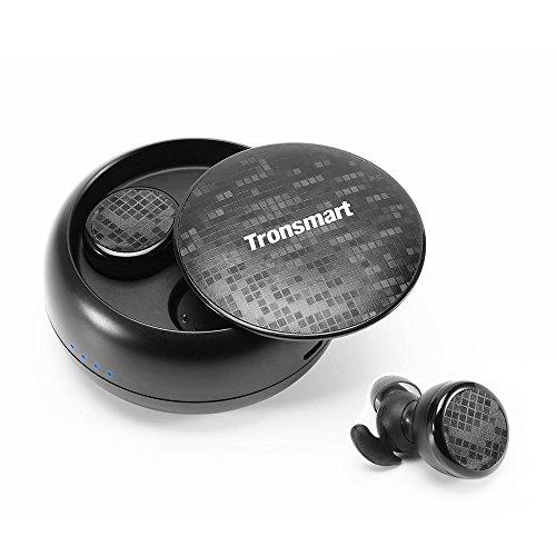 Tronsmart Bluetooth5.0 イヤホン 完全ワイヤレス イヤホン 高音質 IPX5防水 AAC対応 12時間再生可能 タッチ操作 Siri対応 左右分離型 両耳 自動ペアリング ブルートゥース イヤホン ヘッドセット iPhone Android対応