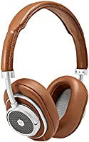 Master & Dynamic MW50+ Wireless 2 in 1, Bluetooth Exchangeable On/Over-Ear Headphones, Brown/Silver