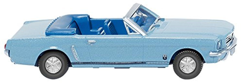WIKING 1/87 フォード T5 カブリオレ メタリックライトブルー 完成品