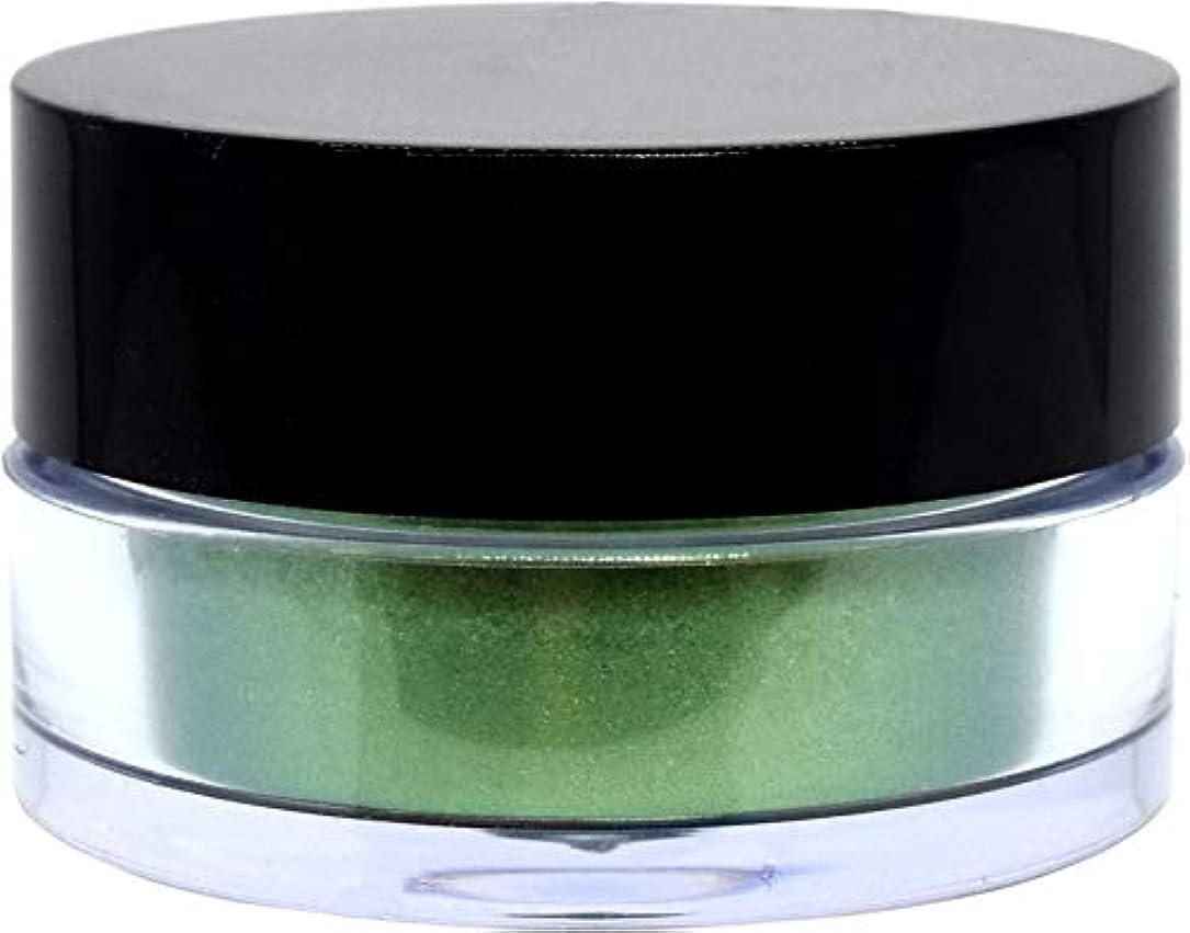 シャワーシャックル解釈的三善 プチカラー 高発色 アイシャドウ パール col:11 グリーン系