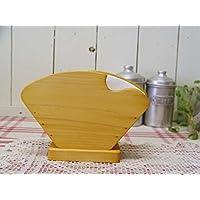 コーヒーフィルターケース 木製ひのき 大人数用 4~7人分 シンプル コーヒーペーパーケース ナチュラル 受注製作