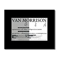 VAN MORRISON - Queen of the Slipstream Matted Mini Poster - 21x13.5cm